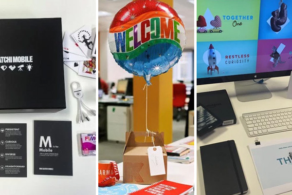 The best welcome packs for new starters