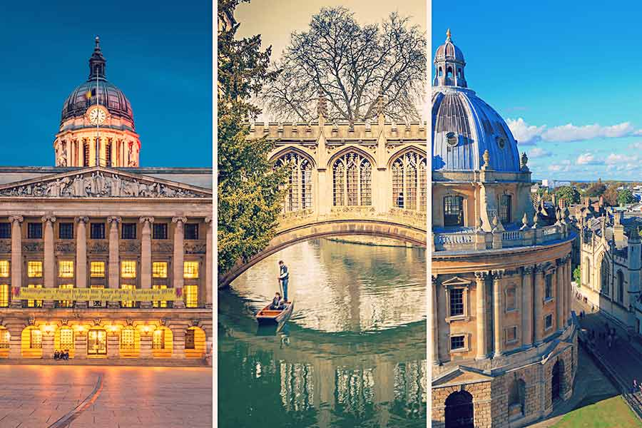 20 best UK cities for candidates