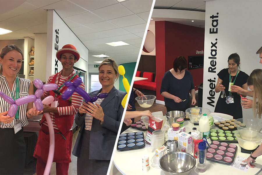 Cupcakes, cartoons & circus skills… L&D gone mad?