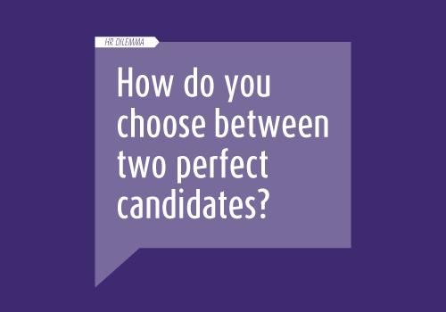 Choosing between candidates