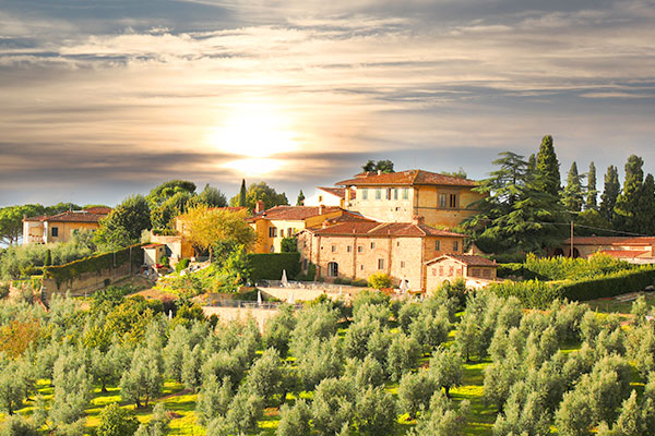 Recruitment firm lets out Tuscan villa to staff for free