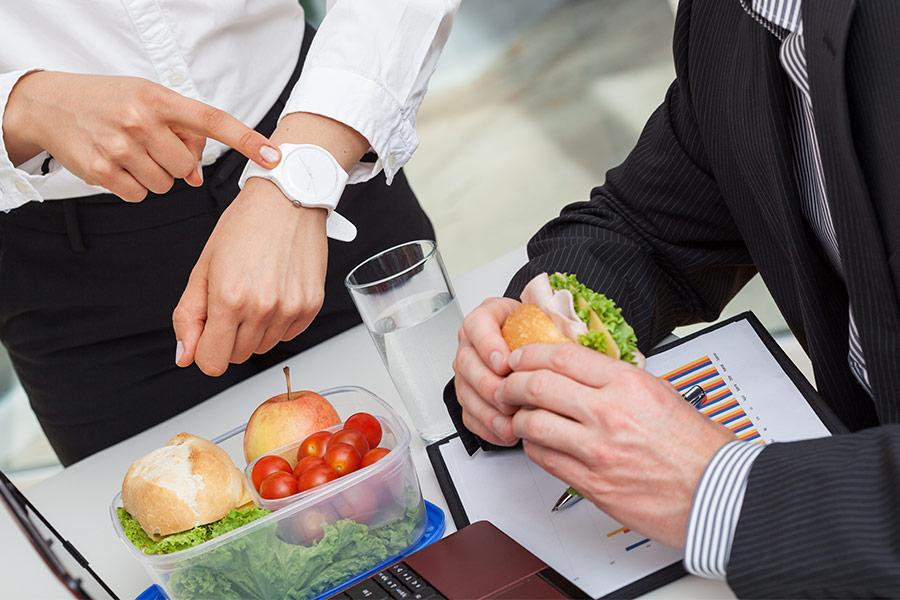 The exact duration of the average UK lunchtime revealed