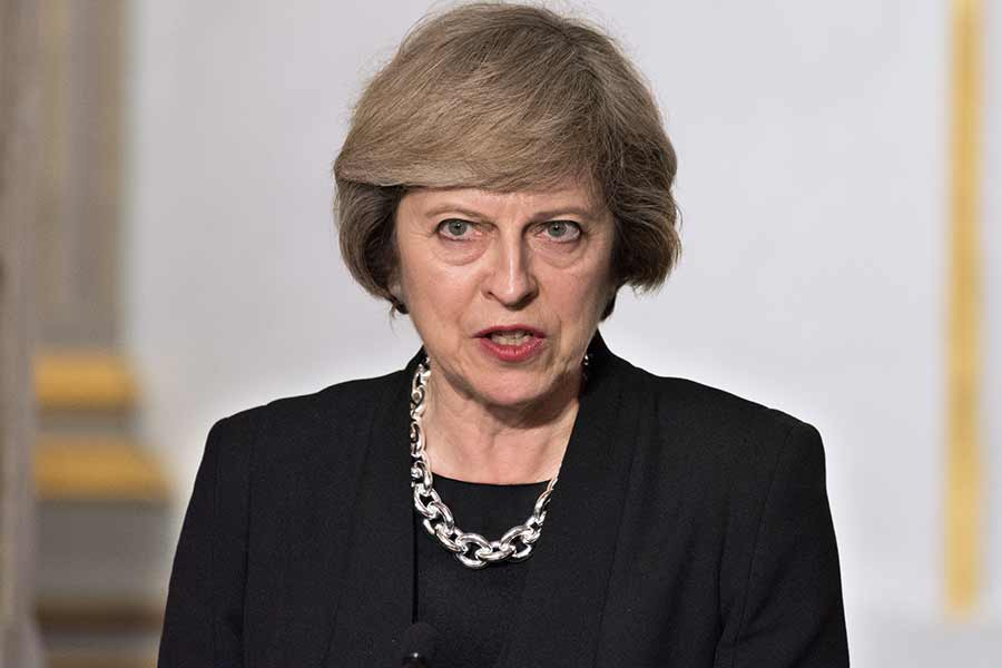 Theresa May threatens to sack staff who leak Government plans… leaked memo reveals