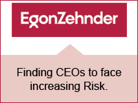 Finding CEOs to face increasing Risk