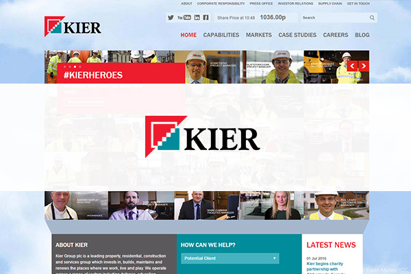 Kier Group hires Group Head of Resourcing