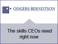 The skills CEOs need right now