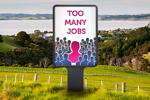 Town with 'too many jobs' launches mass recruitment drive