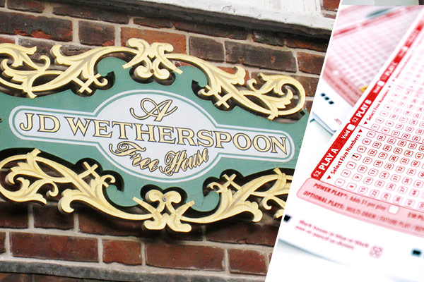 Wetherspoons employee wins lottery… But carries on working
